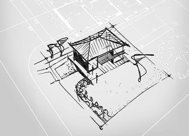 Architekt urs fischer handskizzen machbarkeitsstudien und for Architektur axonometrie